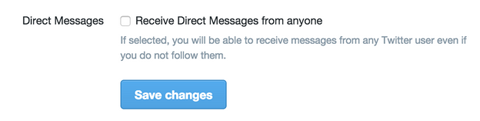 activer les Direct Messages sur Twitter Community Manager digitalebox